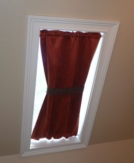 One of the curtains