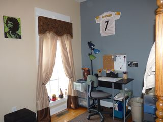 Youngest son's new room